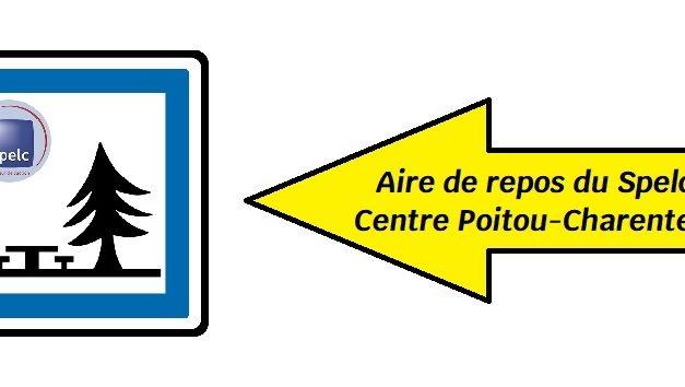 (24/07/2021) Le Spelc Centre Poitou-Charentes présent sur l'aire de repos